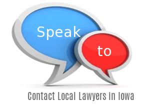 Speak to Lawyers in  Iowa