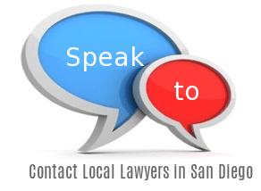 Speak to Lawyers in  San Diego, California