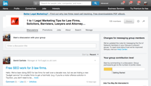 LinkedIn Law Firm Marketing