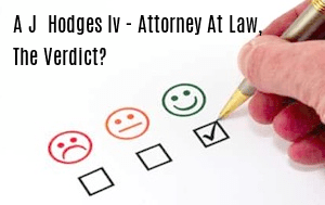 A.J. Hodges, IV - Attorney at Law