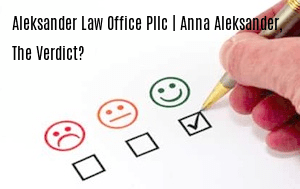 Aleksander Law Office, PLLC | Anna Aleksander